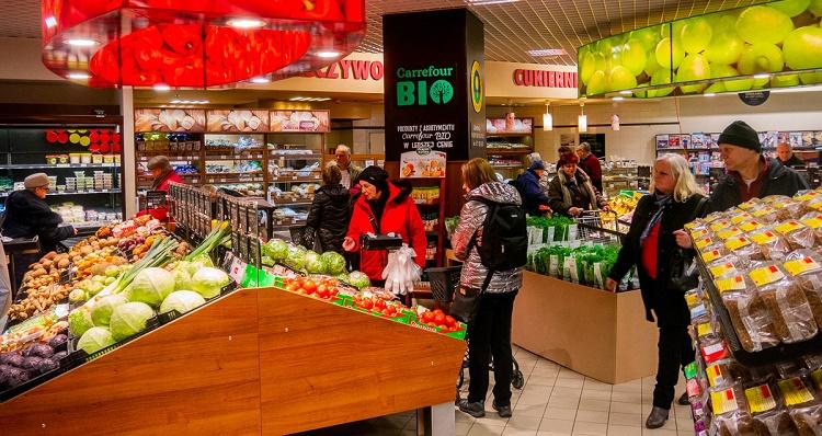 4a4091e1e6d15 Jak informuje Galeria Korona, Carrefour Premium będzie różnił się od  istniejących już w Kielcach sklepów Carrefour Express przede wszystkim  asortymentem. Ma ...